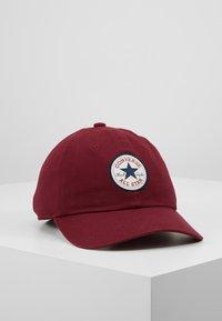 Converse - TIPOFF CHUCK BASEBALL UNISEX - Cap - burgundy - 0