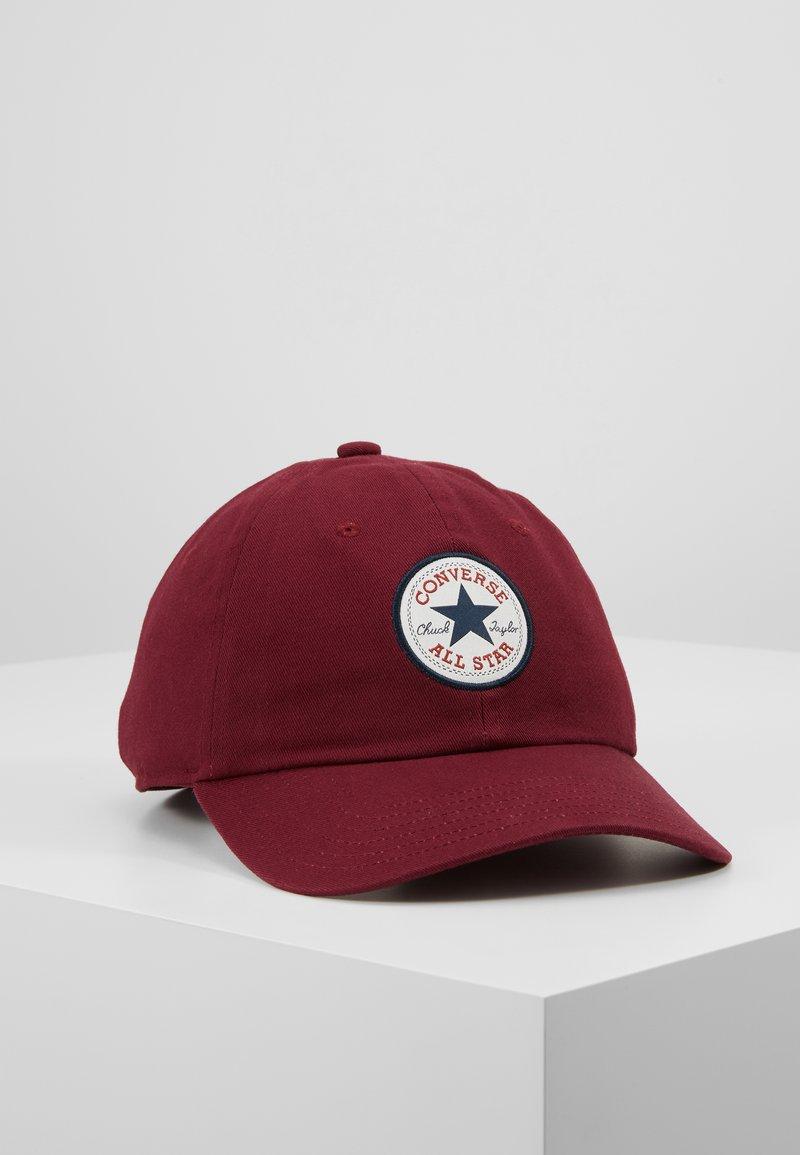 Converse - TIPOFF CHUCK BASEBALL UNISEX - Cap - burgundy