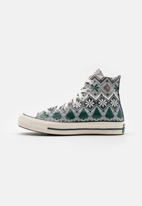 Converse - CHUCK TAYLOR ALL STAR 70 UNISEX - High-top trainers - ash stone/egret/obsidian - 0