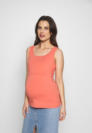 CLASSIC SHORT SLEEVED - Basic T-shirt - coral