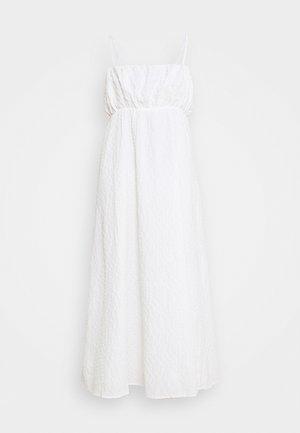 MARSEILLE MIDI DRESS - Vestido informal - white