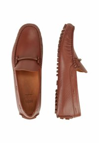 BOSS - DRIVER - Moccasins - brown - 4