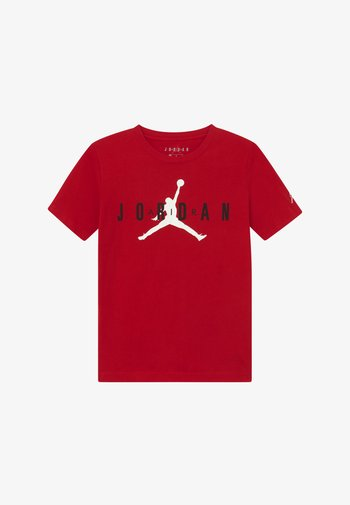 BRAND TEE - T-shirts med print - gym red
