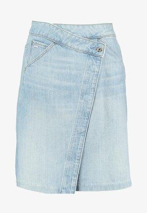 5622 WRAP - A-line skirt - ultra aged
