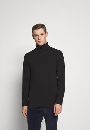 TED ROLLNECK - Longsleeve - black
