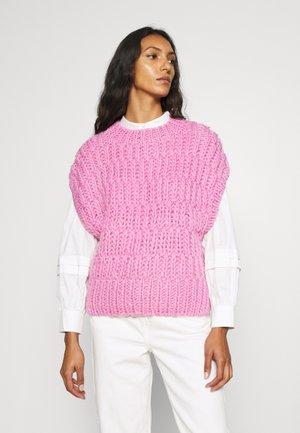 SLFPEARL KNIT VEST  - Trui - prism pink