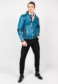 Freaky Nation - BENBLUE-FN - Leather jacket - multiple blue - 1