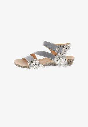 DUMIA - Sandals - grau/kombi