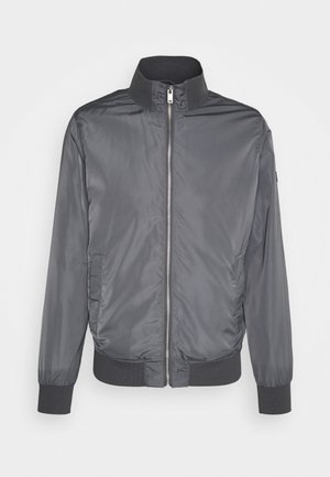 MAHARDRON - Bomber Jacket - iron gate