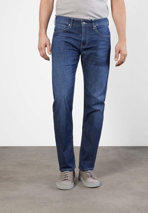 Straight leg jeans - deep blue