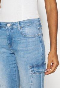 ONLY - ONLMISSOURI LIFE - Straight leg jeans - light blue denim - 4
