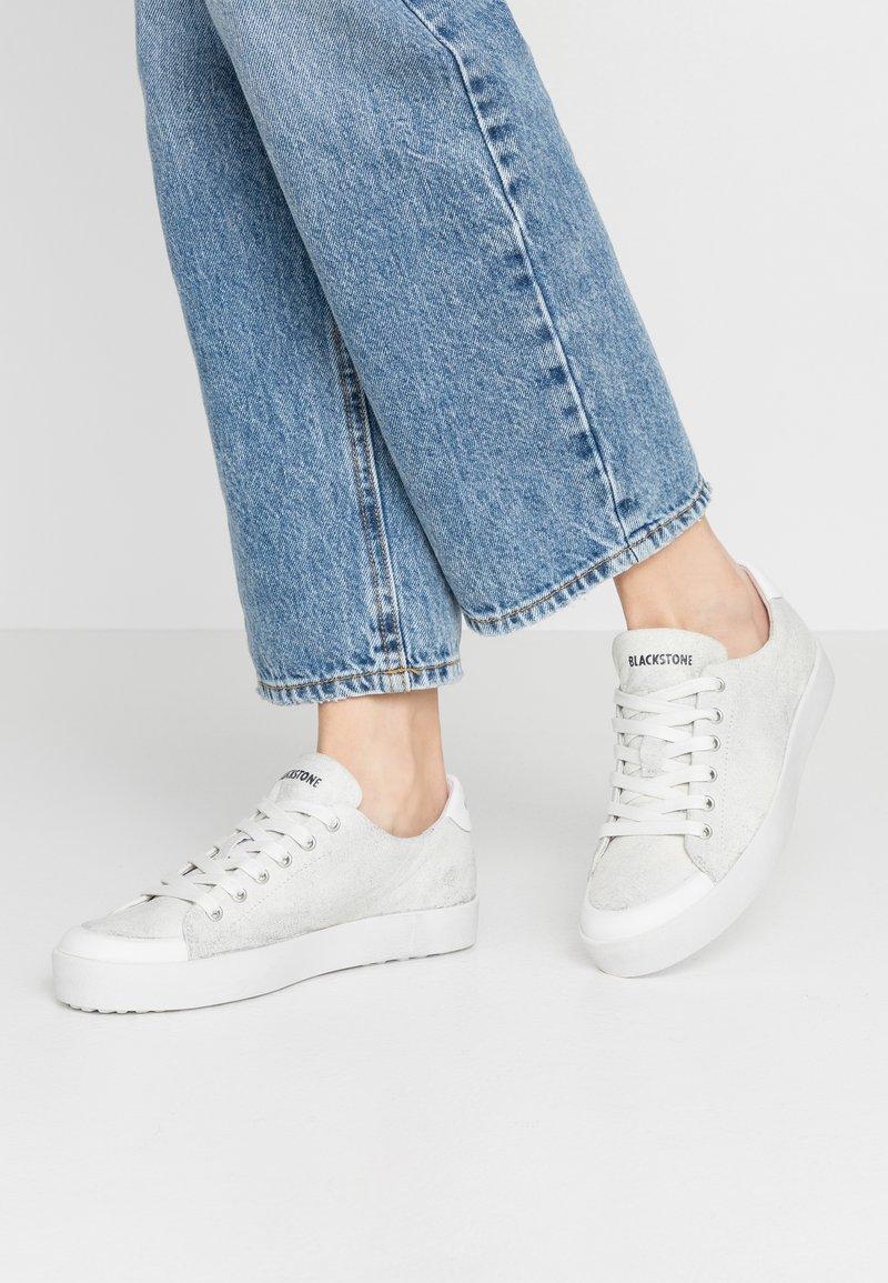 Blackstone - Sneakers - metallic silver