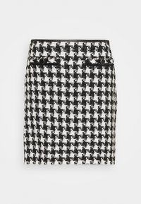 Wallis - DOGTOOTH - Mini skirt - mono - 0