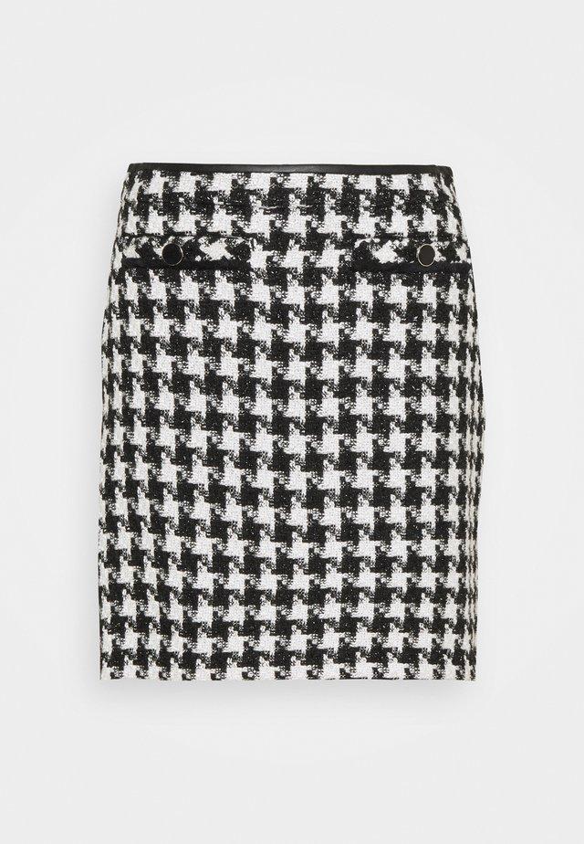 DOGTOOTH - Mini skirt - mono