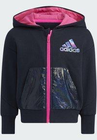 adidas Performance - Zip-up sweatshirt - blue - 1