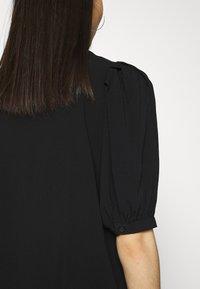 ONLY - ONLKARMA LIFE  SOLID - Basic T-shirt - black - 4