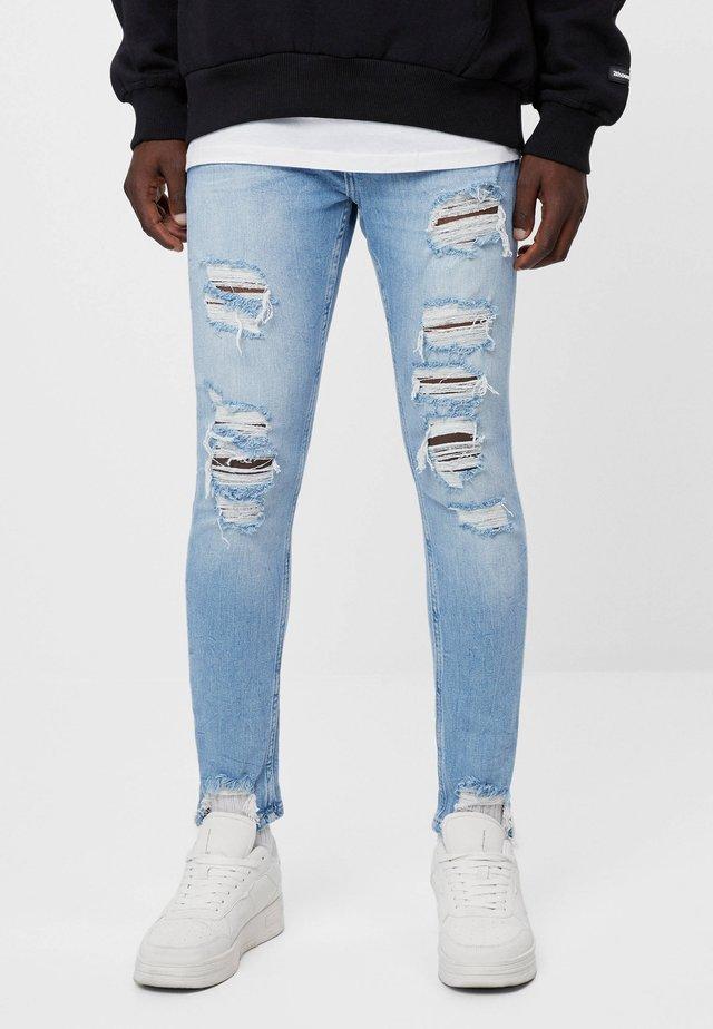 Jeans Skinny - blue denim