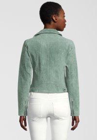 Rino&Pelle - DAMINA - Leather jacket - green - 1