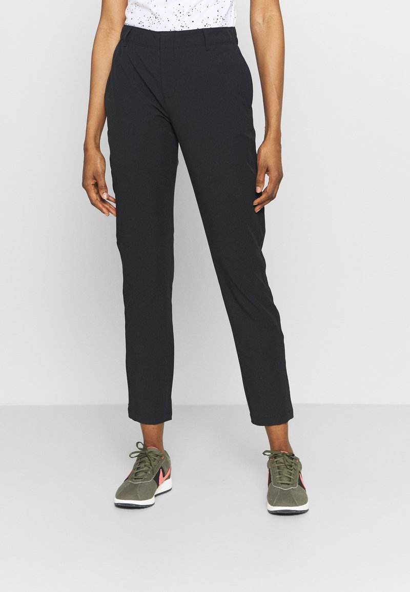 Under Armour - LINKS PANT - Trousers - black