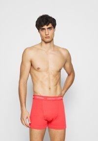 Calvin Klein Underwear - TRUNK 3 PACK - Pants - black - 3