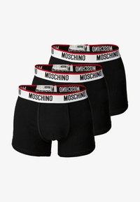 Moschino Underwear - 3 PACK - Pants - schwarz - 0