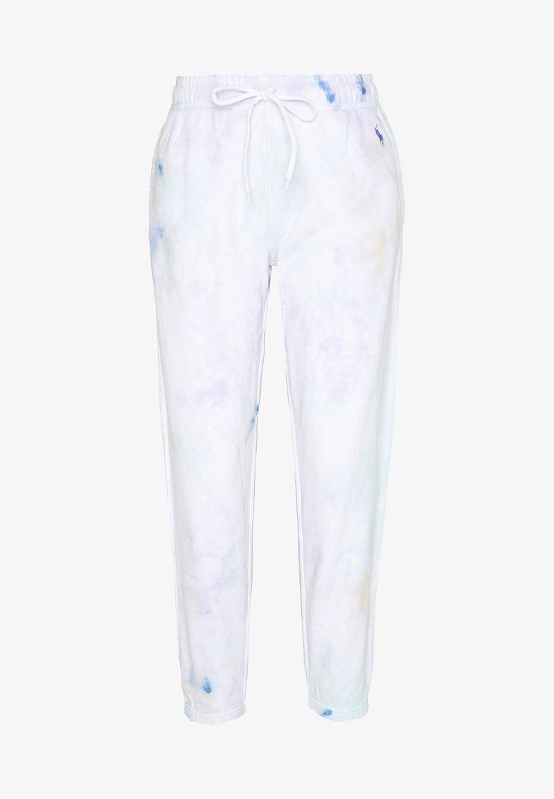 Polo Ralph Lauren - ANKLE PANT - Pantalon de survêtement - pastel paintsplat