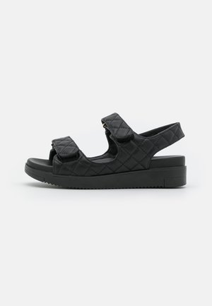 KIKII - Sandales à plateforme - black