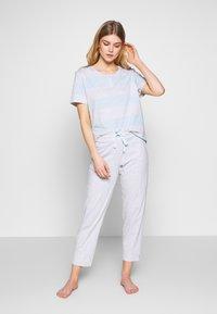 Schiesser - ANZUG 7/8 LANG, 1/2 ARM - Pyjama set - grau-melange - 1