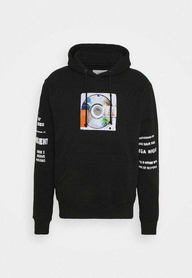RELEASE HOODY UNISEX - Sweatshirt - black