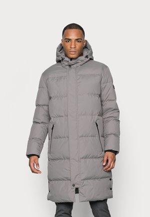 JACKET REGULAR FIT FULLY LINED HOOD VISLON ZIPP - Winter coat - flint stone