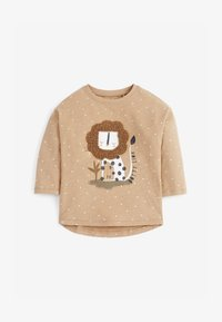 Next - LION - Long sleeved top - brown - 0