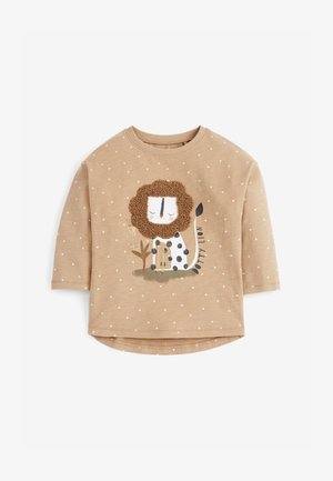 LION - Long sleeved top - brown