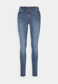 Noisy May Tall - NMKIMMY - Jeans Skinny Fit - medium blue denim - 4
