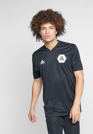 TAN  - Print T-shirt - black
