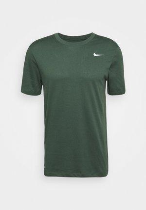 TEE CREW SOLID - Basic T-shirt - galactic jade
