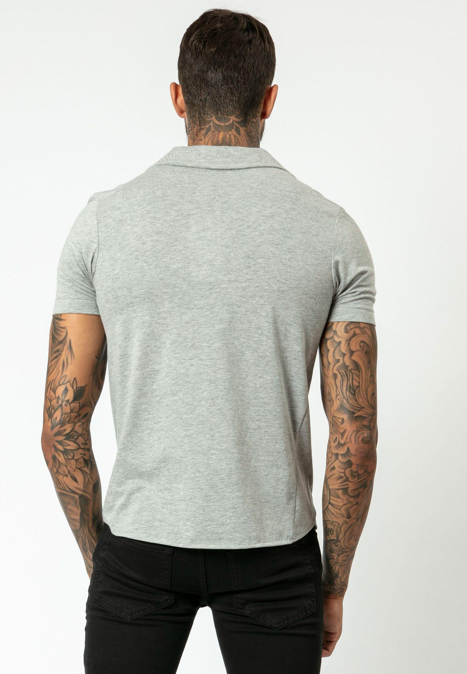 Najlepiej sprzedający się Gorąca wyprzedaż Religion RIPLEY - Koszulka polo - grey | Odzież męska 2020 qQB8L