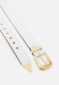 Versace Jeans Couture - PIN BUCKLE - Pásek - bianco ottico - 2
