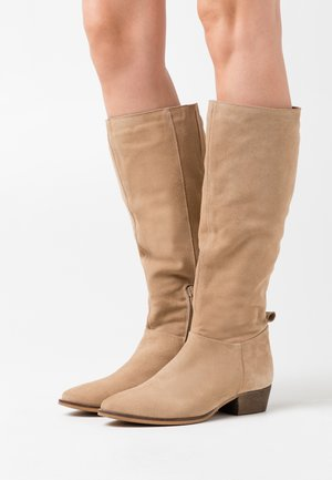 LEATHER  - Bottes - beige