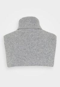 Samsøe Samsøe - FLINTI TURTLE SCARF  - Other accessories - grey melange - 1