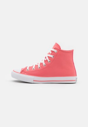 CHUCK TAYLOR ALL STAR  - High-top trainers - pink salt/white/black