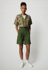 Napapijri - GELOR - Button-down blouse - multi flower - 1