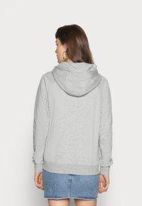Nike Sportswear - HOODIE - Sweat à capuche - dark grey heather/white - 3