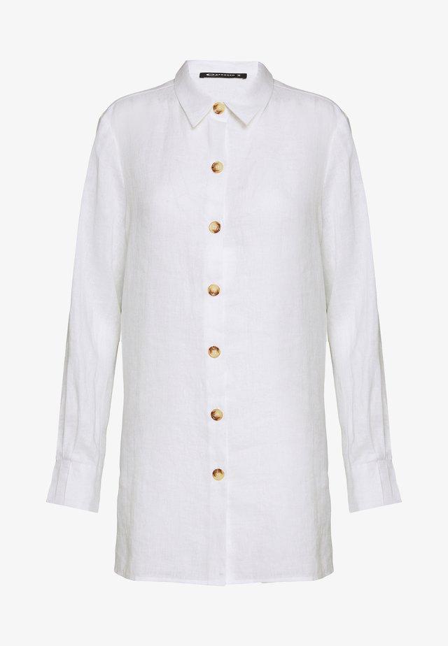ERRIS - Camisa - weiß