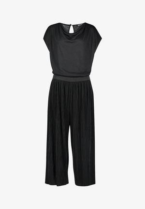 WASSERFALLAUSSCHNITT - Jumpsuit - schwarz
