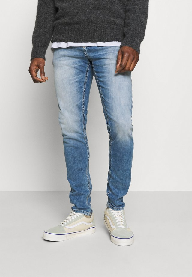SMARTY - Jeans Slim Fit - alfa andamaged wash
