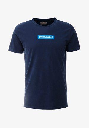T-shirt z nadrukiem - deep navy