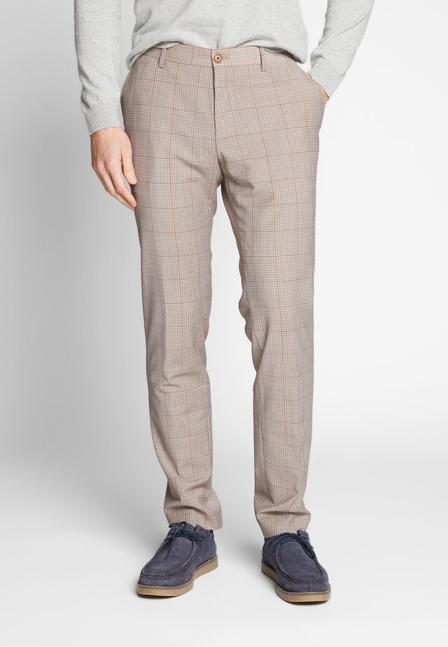 RAVN TROUSERS - Stoffhose - beige
