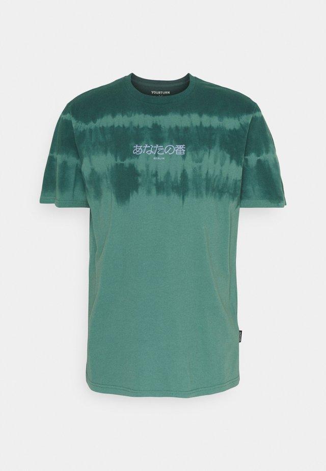 UNISEX - T-shirt med print - green