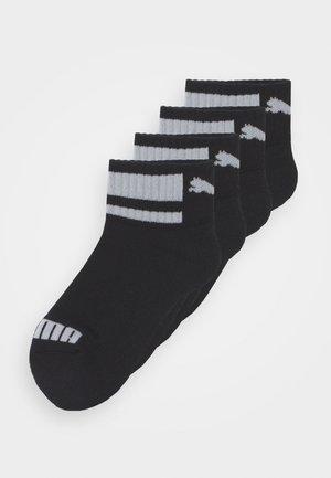 CLYDE JUNIOR QUARTER 4 PACK UNISEX - Socks - black