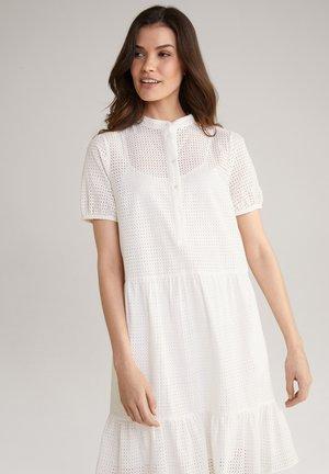 Shirt dress - weiß
